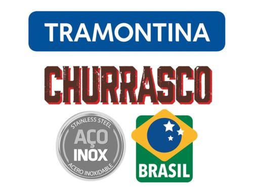 TRAMONTINA ® Steakgabeln Küchengabeln Set Pizza Grill JUMBO Churrasco 21136040