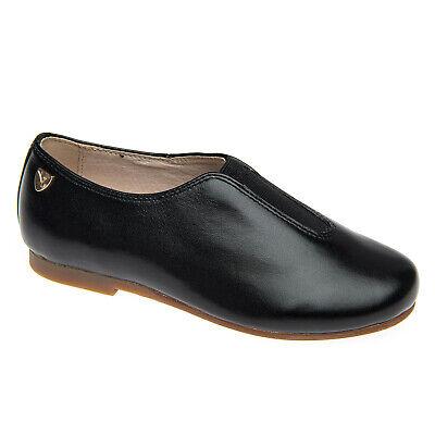 Venettini Boys 55-Ace Designer Buckle Leather Slip On Boys Dress Shoes