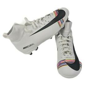 Nike-Youth-5-Mercurial-Junior-SUPERFLY-6-Club-AJ3115-109-Soccer-Crampons-Multi-Color