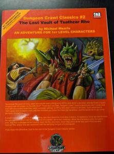 1x-Dungeon-Crawl-Classics-2-The-Lost-Vault-of-Tsathzar-Rho-Used-Fine-dungeon-C