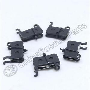 4 Pairs Ceramics Bicycle Disc Brake Pads for Shimano A01S Deore M596 SLX M665