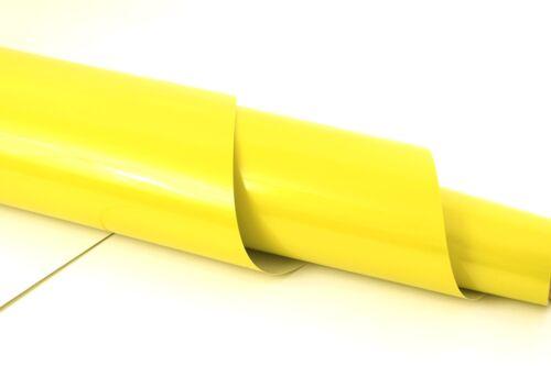 gelb 100cm X 152cm Glossy Candy Lime Yellow Car Wrapping Folie 18,36Euro//qm