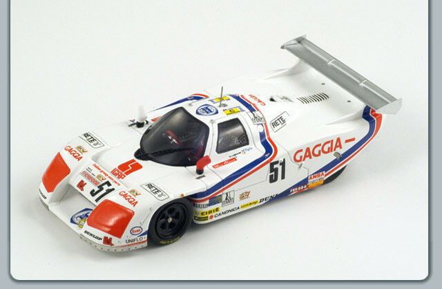 Lancia Lc21  51 Le Mans 1963 1 1 1 43 Spark S0663 Modellino 5a7a79