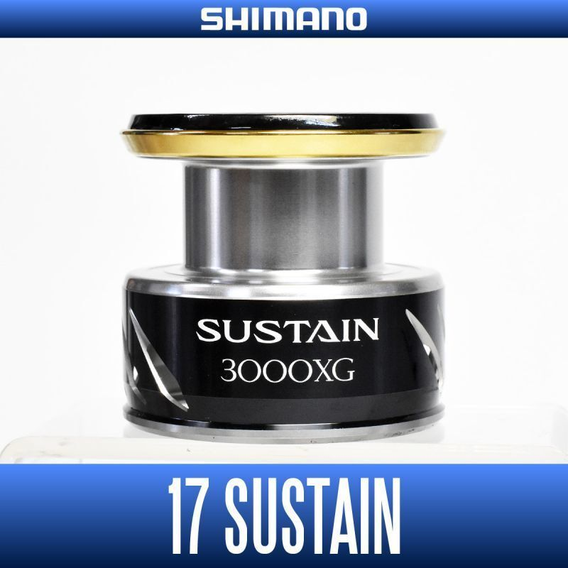 SHIMANO Genuine 17 SUSTAIN 3000XG Original Spare Spool Spinning