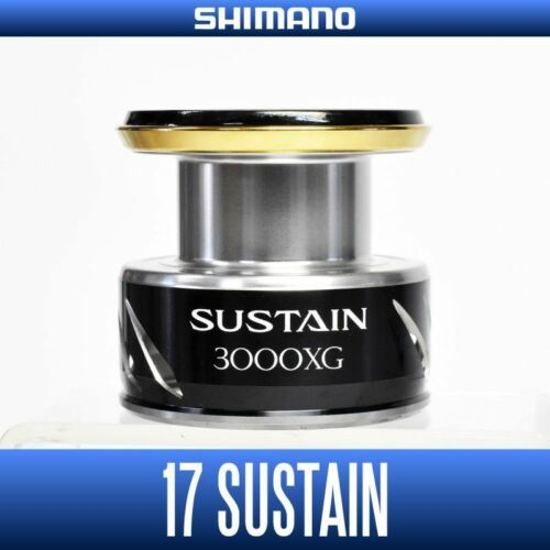 SHIMANO Genuine 17 SUSTAIN 3000XG Original Spare Spool Spinning