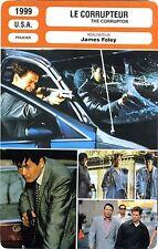 Fiche Cinéma. Movie Card. Le corrupteur / The corruptor (USA) James Foley 1999