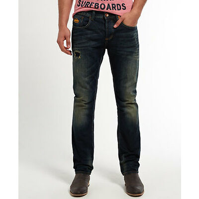 Superdry Jean large Copperfill Pour homme