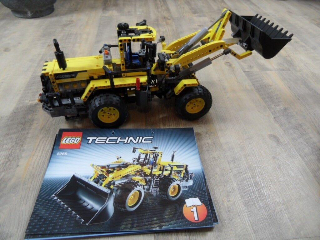 LEGO TECHNIC Frontlader 8265 Topzustand m. Anleitung SoK1217