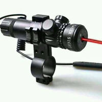 Tactical Rechargeable Red Dot Laser Sight Rifle Gun Scope Rail Barrel Mount