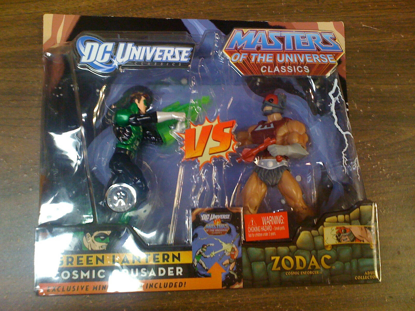 DC Green Lantern Lantern Lantern Caped Crusader VS MOTU Zodac Cosmic Enforcer NEW FREE SHIP US 9a5892
