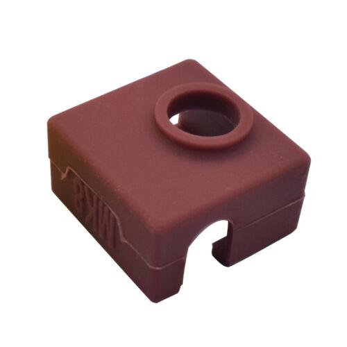 3D Printer Silicone Sock Heater Block Cover MK7 MK8 Hotend Heater Protect New