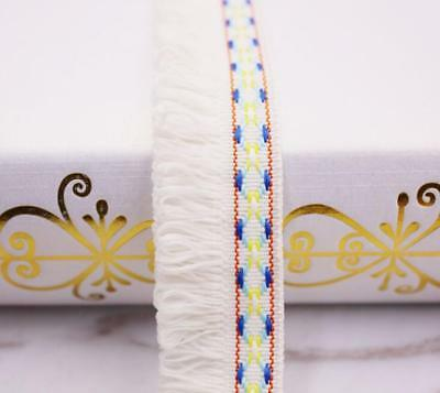 2//5//10 Yards Lace Edge Trims Fringe Tassel Curtain Ribbon DIY Sewing Craft Decor
