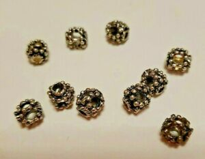 Gold Angel Wings Spacer Charms Beads 8MM 10MM F57 Bronze 50Pcs Tibetan Silver