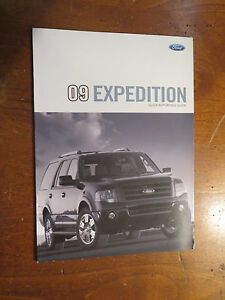 ford expedition factory quick reference owners manual