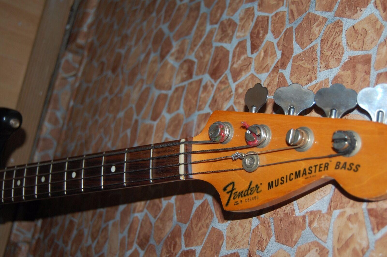 Fender Musicmaster Bass USA  Baujahr77'78