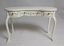 Dolls House Miniatures Handpainted JiaYi Kidney Desk / Side / Dressing Table