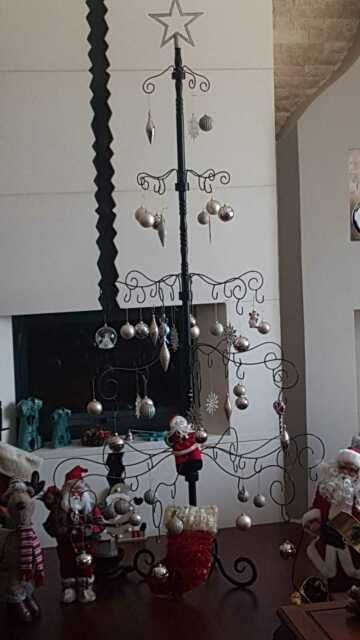 7 Ft Wrought Iron Christmas Tree   eBay