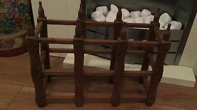 In Legno Vino Rack Contiene 6 Bottiglie-