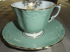ANSYLEY-EMBOSED-BONE-CHINA-TEA-CUP-AND-SAUCER