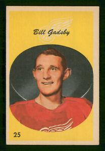 BILL-GADSBY-1962-63-PARKHURST-62-63-NO-25-VG-41000