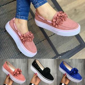 Women-Fashion-Flowers-Sneakers-Slip-On-Flat-Platform-Casual-Single-Shoes-Loafers