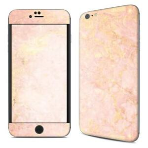 quality design 7b7dd 87839 Details about iPhone 6 Plus/6S Plus Skin - Rose Gold Marble - Sticker Decal  - 5.5in