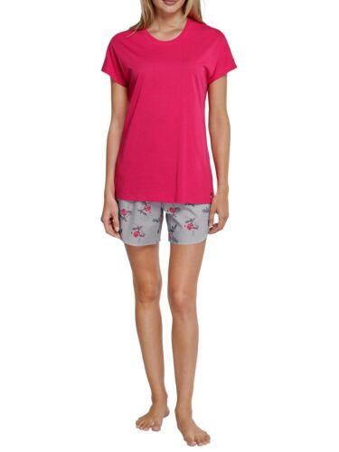 Seidensticker Damen kurzer Schlafanzug Pyjama Kurz 157136