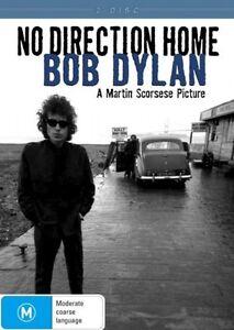 BOB-DYLAN-NO-DIRECTION-HOME-REGION-4-2-DISC-DVD-SET