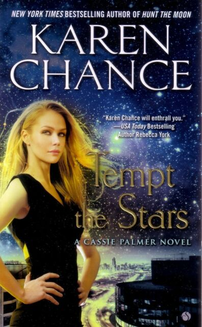 Karen Chance  Tempt The Stars    Cassie Palmer  Paranormal Romance  Pbk NEW