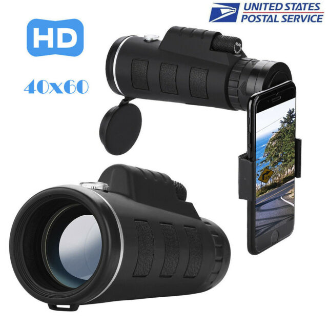Hd 40x60 Optical Zoom Camera Telescope Lens With Clip For Iphone