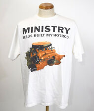 True Vintage 1991 Ministry Jesus Built My Hot Rod Tour T-Shirt Mens XL