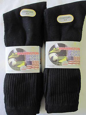 6 Mens Royal Collection Cotton Rich Washington Sport Socks Stripe UK 6-11