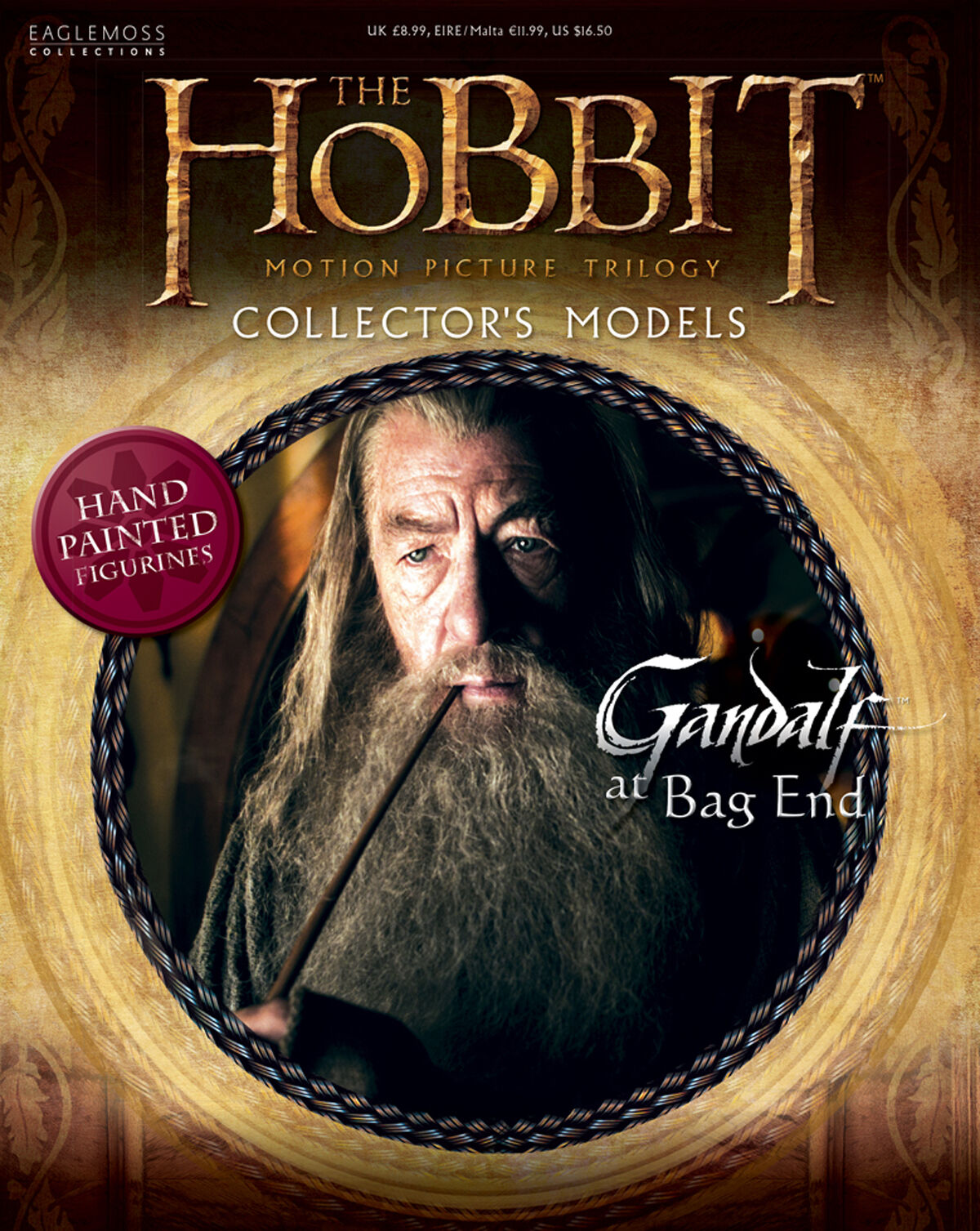 Hobbit LOTR Collectors Eaglemoss Painted Painted Painted Resin 1 25 Figures Magazine Issue dd0927