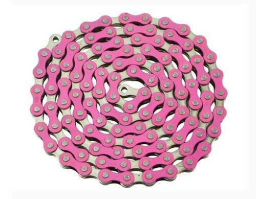 BICYCLE CHAIN 1//2 X 1//8 X 112 LINK BMX CRUISER LOWRIDER CYCLING pickup 10 colors