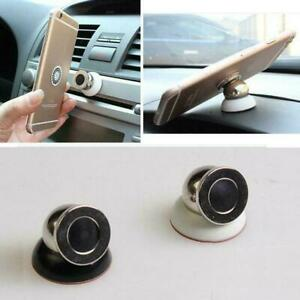 Car-Magnetic-Mount-Kit-Phone-Holders-Magnet-Dash-Ball-Degree-360-Stands-Sup-W5S6