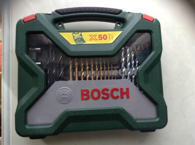 Bosch x50Ti  Bosch X-line 50 Pieces - Drill Bit Set + Screw Driver Bits