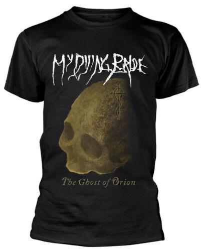 """MY DYING BRIDE /""""Le fantôme de orion Crâne/"""" Noir T-shirt-NOUVEAU /& OFFICIEL!"""