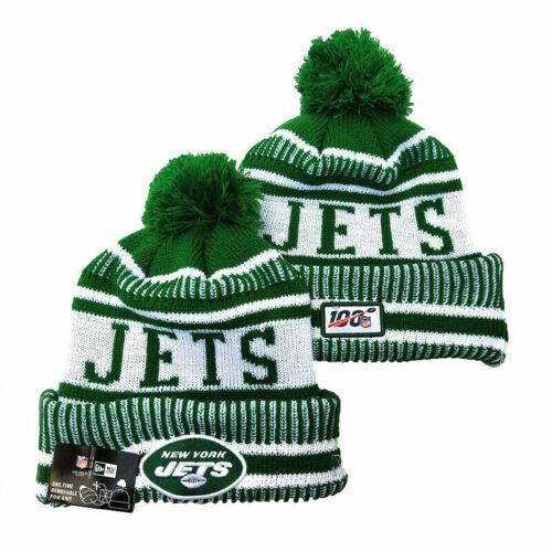 Unisex NFL Fleece lined Sport Knit Sideline Beanie Warm Hat New York Jets