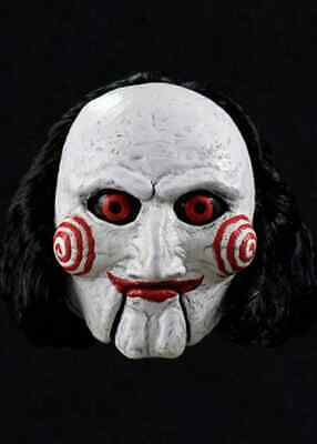 Adult Saw Movie Billy Puppet Jigsaw Horror Halloween Party Costume Mask Props