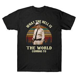 Que-l-039-enfer-est-le-monde-a-venir-a-Vintage-Tee-Shirt-Homme-Retro-Coton-Tee-Cadeau