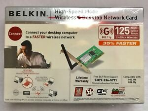 BELKIN WIRELESS DESKTOP CARD F5D7001 DESCARGAR CONTROLADOR