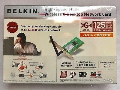 BELKIN G DESKTOP NETWORK CARD F5D7001 DESCARGAR CONTROLADOR