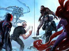 X-MEN/ INHUMANS PRIME #1 - Gabriele Dell'Otto Virgin Variant Set - Marvel Comics