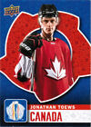 2016 UPPER DECK UD WORLD CUP OF HOCKEY CARDS (WCH-1 - WCH-40) U-Pick From List