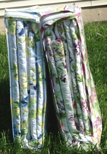 41-42 All For You 3PC quilt set bedspread coverlet-reversible-flowers-4 SIZES