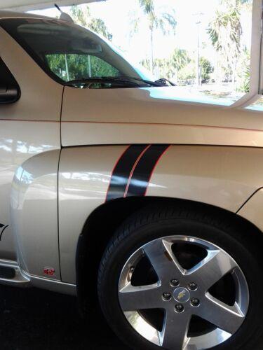 Chevy HHR 2 COLOR Fender Hash Mark Stripe Stripes PAIR LT SS LS Grand Sport