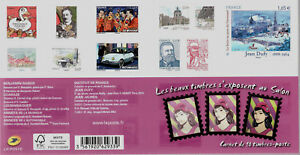 CARNET-BC-1023-NEUF-XX-TIMBRES-1023-1032-NEUFS-XX-SALON-PLANETE-TIMBRES-2014