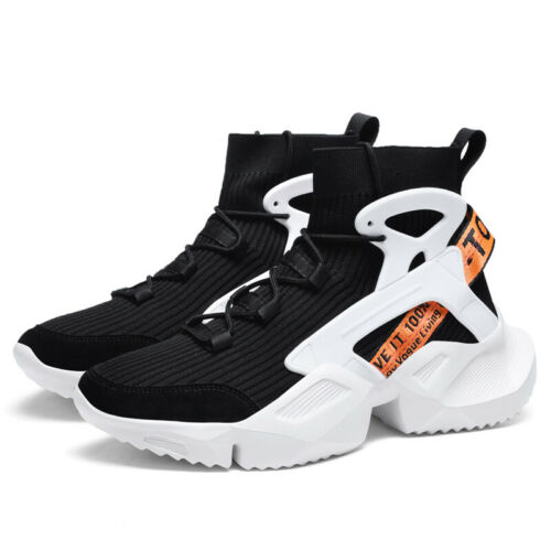 Men/'s High Top Sneakers Outdoor Sports Basketball Athletic Shoes Jogging Tennis
