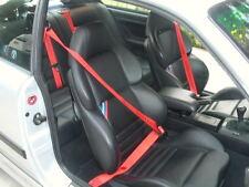 BMW E36 MOTORSPORT Red Sicherheitsgurte  M Power