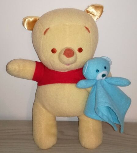 Peluche Baby Winnie The Pooh 20 Cm Pupazzo Originale Disney Bear Plush Soft Toys